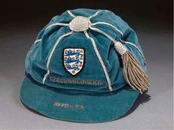 Bobby Moore's England Football Cap v Czechoslovakia 1972-73