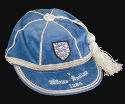 England Football Cap v Wales & Scotland 1964