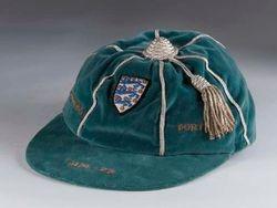 Frank Worthington's England cap v Czechoslovakia & Portugal 1974-75