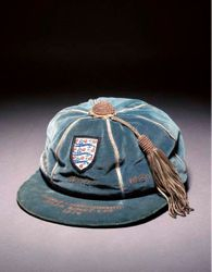 Geoff Hurst's England cap v Rumania, Brazil & West Germany 1970 World Cup