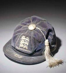 Stan Mortenson's England Football Cap v Italy 1947-48