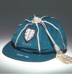Neil Webb's England cap v France 1991-92