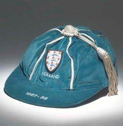Neil Webb's England Football Cap v Holland 1987-88