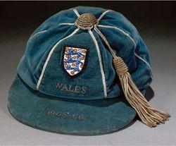 Norman Hunter's England Football Cap v Wales 1968-69