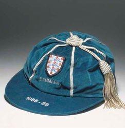 Neil Webb's England cap v Denmark 1988-89