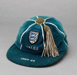 England Football Cap v Wales 1967-68