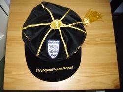 England Futsal Football Cap