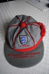 England Youth Football Cap