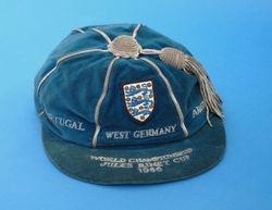 Nobby Stiles England Football Cap 1966 World Cup