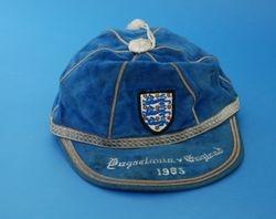 Nobby Stiles England Football Cap