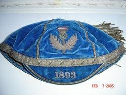 Scotland Rugby Cap 1893