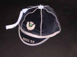 Scotland Rugby Cap 2006-07