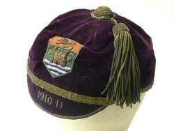Cumberland Rugby Cap 1910-11