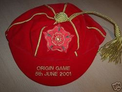 Lancashire County Rugby Cap 2001