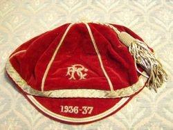 Redruth RFC Cap 1936-37