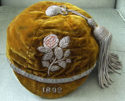 Yorkshire County Rugby Cap 1892