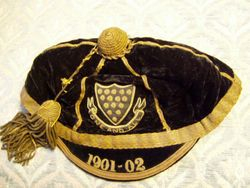 Cornwall County Rugby cap 1901-02