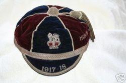 Wimbledon FC Cap 1917