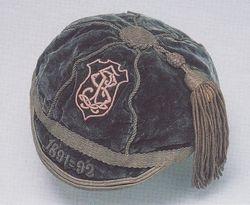 Henri Amand's Stade Francais Rugby Cap 1891-92