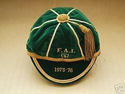 Gerry Daley's Republic of Ireland Football Cap 1975-76