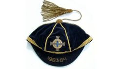 Jimmy Nichaoll's Northern Ireland Football Cap 1983-84