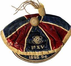 Clontarf RFC 1st XV Rugby Cap 1893-94