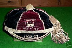 Dublin University 2nd XV Rugby Cap 1932-33