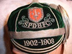 S.P.D.H.F.C. Cap 1902