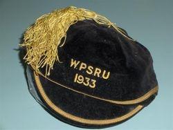 1933 Wellington Schools Cap NZ New Zealand Rugby Cap