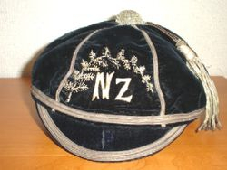 New Zealand Rugby Cap 1896