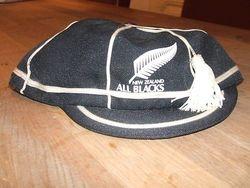 Replica New Zealand All Blacks Rugby Cap