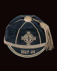Northern Ireland Football Cap 1927-28