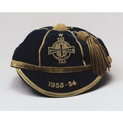 Harry Gregg's Northern Ireland Football Cap 1953-54