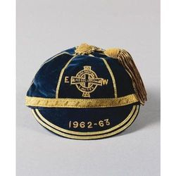 Terry Neill's Northern Ireland International Football Cap 1962-63