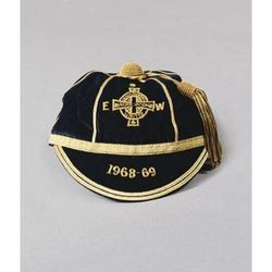 Northern Ireland International Football Cap 1968-69
