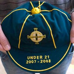Northern Ireland U21 Football Cap 2007-2008 season
