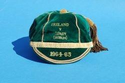 Republic of Ireland Football Cap 1964-65