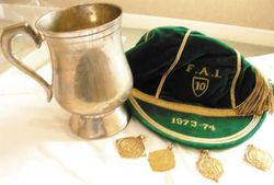 Paddy Mulligan Republic of Ireland Football Cap 1973-74