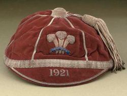 Wales Rugby League Cap 1921