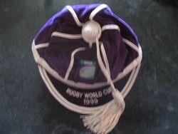 Allan Bateman's 1999 Rugby World Cup cap