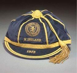 Willie Morgan's Scotland International cap v Northern Ireland
