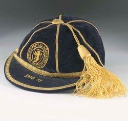 Arthur Graham's Scotland football cap season 1978-79