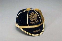 Scotland Amateur Football Cap 1967-68