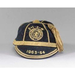 Scotland Football Cap v Ireland & Wales 1963-64