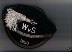 Scotland Football Cap v Wales 1950