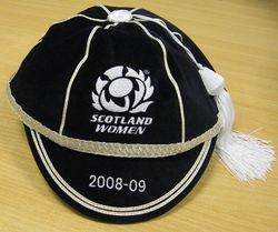 Scotland Women Rugby Cap 2008-09