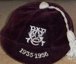 Glasgow Academicals Rugby Cap 1935-36