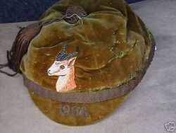 South African Springboks Rugby Cap 1906