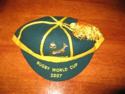 South Africa Rugby Cap World Cup 2007