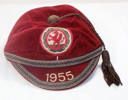 Alan Jones' Welsh Schoolboys Football Cap 1955